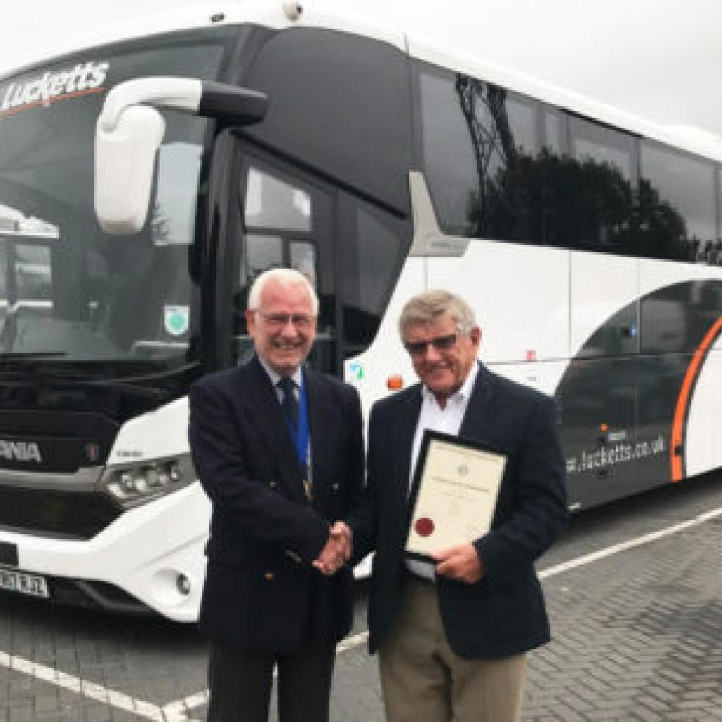 Lucketts chairman receives national accolade